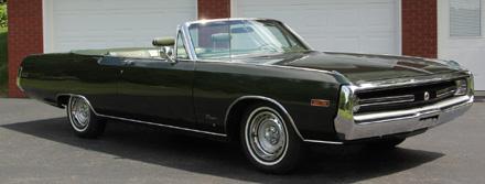 1970 Chrysler 300 Convertible