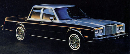 Chrysler Fifth Avenue from brochure.
