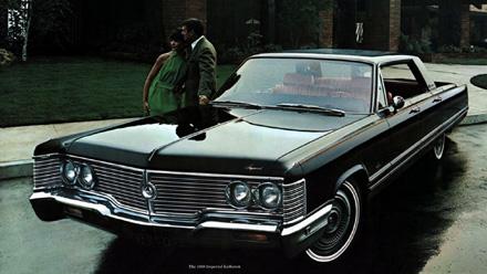 Chrysler Imperial from brochure
