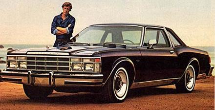Chrysler Lebaron from brochure