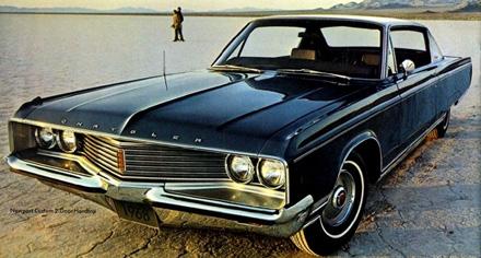 Chrysler Newport from brochure.