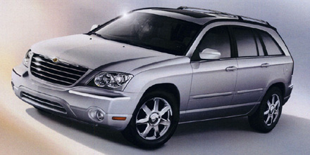 2005 Chrysler Pacifica from brochure.
