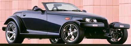 Chrysler Prowler from brochure.