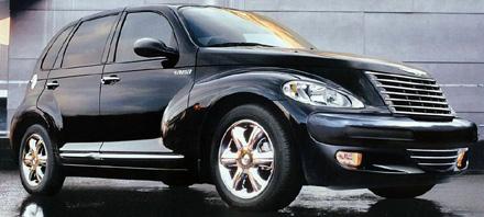 Chrysler PT Cruiser from brochure.