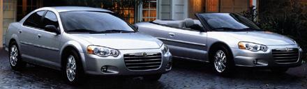 Chrysler Sebring from brochure.