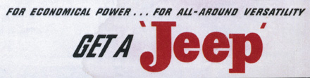 Classic Jeep Logo from brochure.
