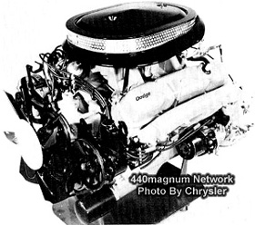 440 Six Pack engine Information