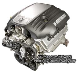 345 cu. in. (5.7-liter) HEMI engine