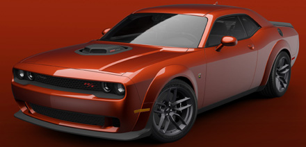2021 Dodge Challenger R/T Scat Pack Shaker Widebody
