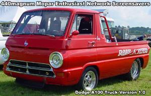 Classic Dodge A-100 Truck Screensaver