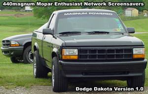 Classic Dodge Dakota Screensaver