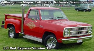 Classic Lil Red Express Truck Screensaver