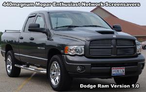 Classic Dodge Ram Screensaver