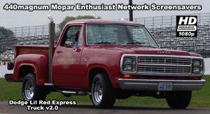 HD Widescreen Dodge Lil Red Express Truck Screensaver