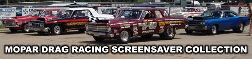 Mopar Drag Racing Screensavers